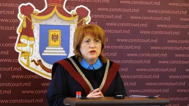 Reacția președintei CC la informațiile conform cărora decizia Curții privind stabilirea circumstanței dizolvării Parlamentului ar fi fost deja luată