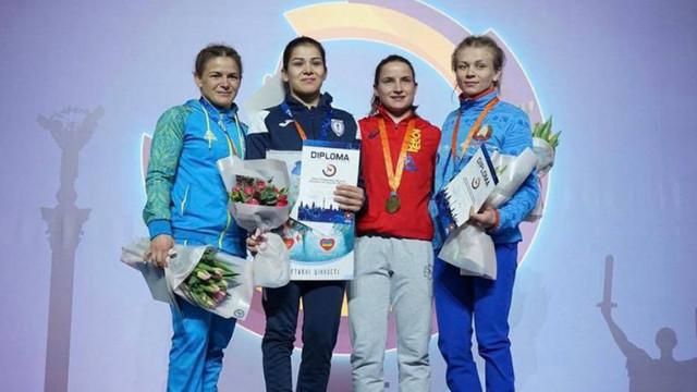 Anastasia Nichita și Irina Rîngaci au urcat pe podium la Kiev