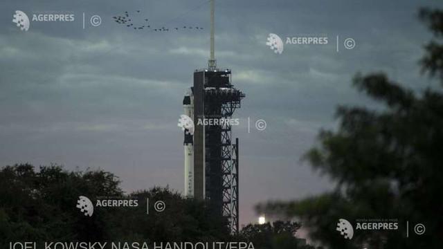 SpaceX a amânat lansarea unei rachete Falcon 9 ce transporta sateliți Starlink