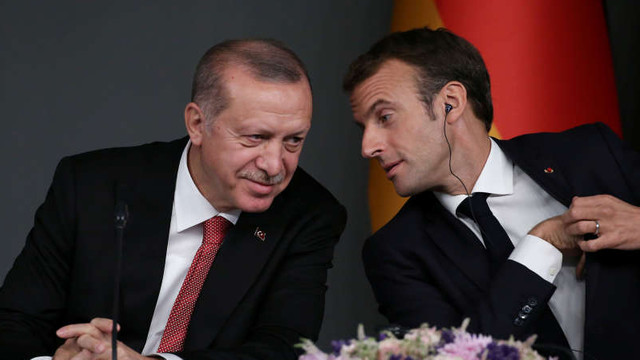 Erdogan îi spune lui Macron că dorește întărirea cooperării în lupta împotriva