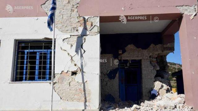 Grecia evaluează pagubele după seismul de miercuri