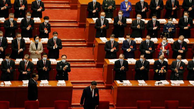 China și-a stabilit un obiectiv de creștere economică de cel puțin 6% în 2021