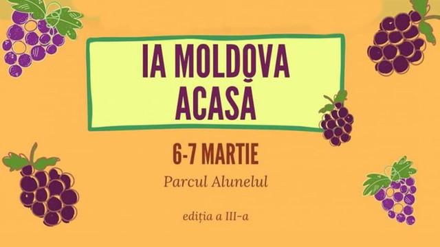 """Circa 70 de producători autohtoni participă la târgul """"Ia Moldova acasă"""""""