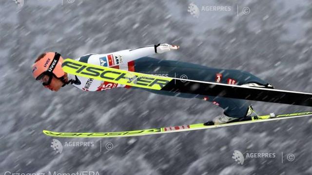 Schi nordic: Austriacul Stefan Kraft, pentru a treia oară campion mondial la sărituri cu schiurile