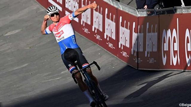 Ciclism: Olandezul Mathieu van der Poel, învingător în clasica Strade Bianche