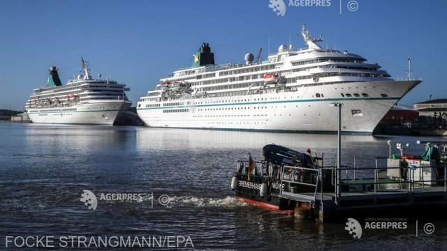 Germania: Sute de muncitori, blocați pe un vas de croazieră după mai multe infectări cu COVID-19