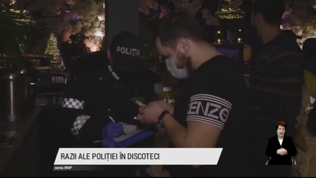 Cluburile de noapte ignoră restricțiile anti-COVID. În două localuri din Chișinău poliția a depistat 120 de încălcări