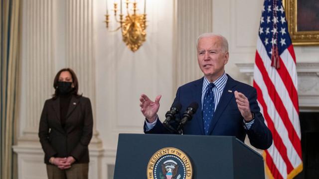 Planul de salvare a economiei SUA, adoptat de Senatul american. Reacția lui Joe Biden după prima victorie majoră a administrației sale
