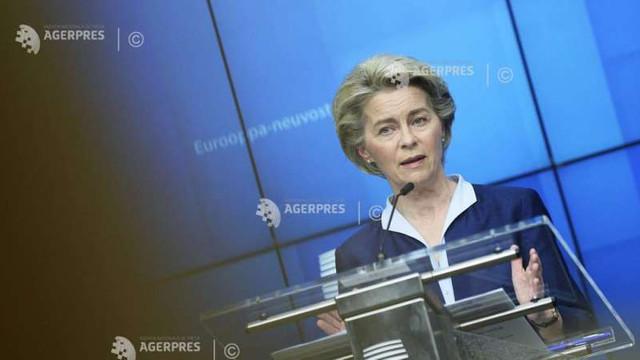 Coronavirus: UE ar putea bloca și alte exporturi de vaccin, anunță Ursula von der Leyen