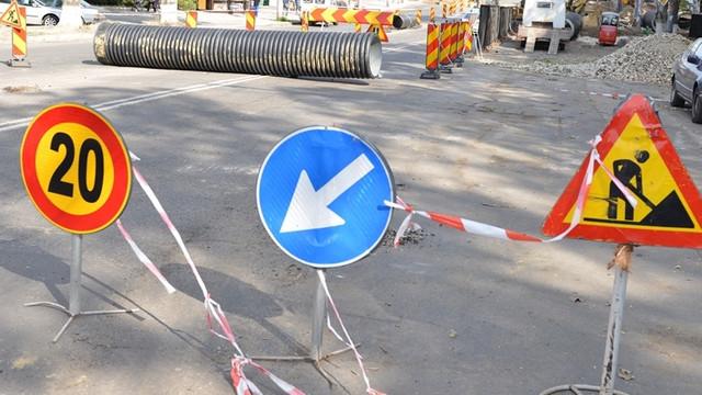 Suspendare totală a traficului rutier pe strada Ion Creangă, pe tronsonul str. V. Belinski – str. E. Coca