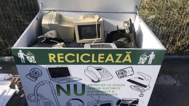Numărul punctelor de colectare a deșeurilor electrice și electronice va crește