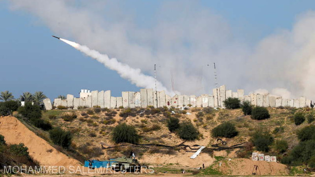 Israel/alegeri: Tir de rachetă din Gaza spre sudul Israelului, în timp ce premierul Benjamin Netanyahu efectua o vizită în zonă  (armată)
