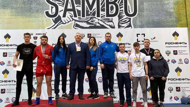 Două medalii la Cupa Mondială de sambo