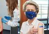 Ursula von der Leyen, vaccinată cu prima doză de Pfizer/BioNTech