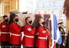 Funeraliile prințului Philip: Sicriul a fost coborât în cavoul regal