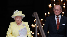 Prinții William și Harry au adus omagiul bunicului lor, ducele de Edinburgh