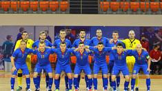 Naționala de futsal a ratat calificarea la Europene