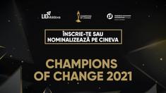 CU MINTEA DESCHISĂ | Competiția Champions of Change: orice campion al schimbării are nevoie de susținere