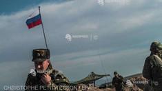 Angela Merkel, Emmanuel Macron și Volodimir Zelenski au lansat un apel către Rusia de a-și retrage trupele comasate la frontiera cu Ucraina