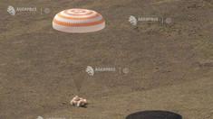 Trei astronauți s-au întors din misiunea de pe Stația Spațială Internațională