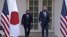 SUA și Japonia, alianța care dă fiori Chinei! Joe Biden l-a primit la Casa Albă pe Yoshihide Suga, premierul nipon