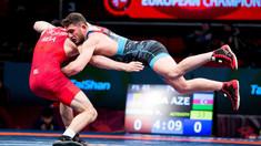 Maxim Saculțan va lupta pentru bronz la Europenele de lupte