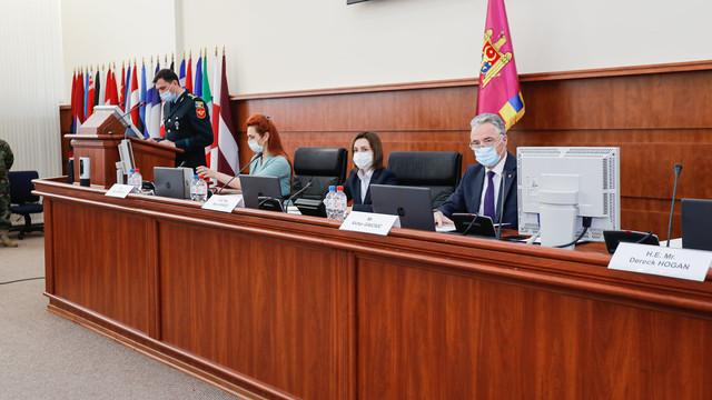 Maia Sandu: Avem nevoie de modernizarea și transformarea continuă a Armatei Naționale