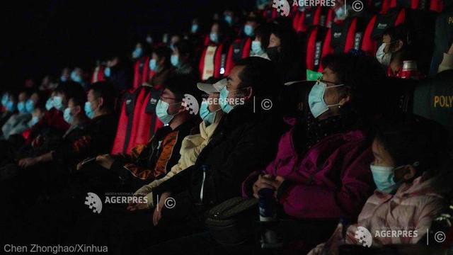 Filme de propagandă, difuzate de două ori pe săptămână în cinematografele din China