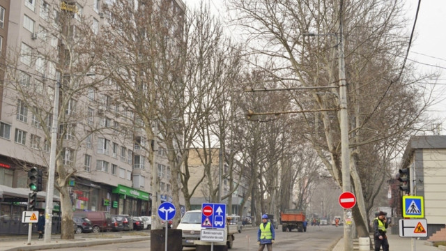 Traficul rutier pe strada Ion Creangă se suspendă trei weekend-uri la rând
