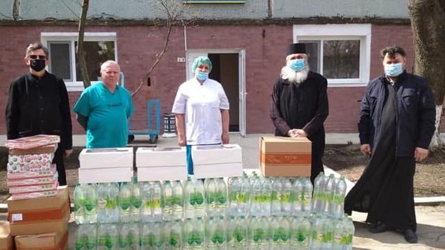 Episcopia de Bălți a Mitropoliei Basarabiei, alături de medicii care luptă cu COVID-19