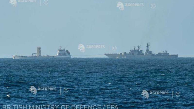 Rusia transferă 15 nave din Marea Caspică în Marea Neagră, pe fondul tensiunilor cu SUA