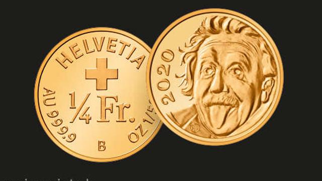 Elveția stabilește un nou record Guinness pentru cea mai mică monedă comemorativă din lume