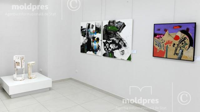 O expoziție de artă contemporană a fost deschisă la Muzeul Național de Artă al Moldovei