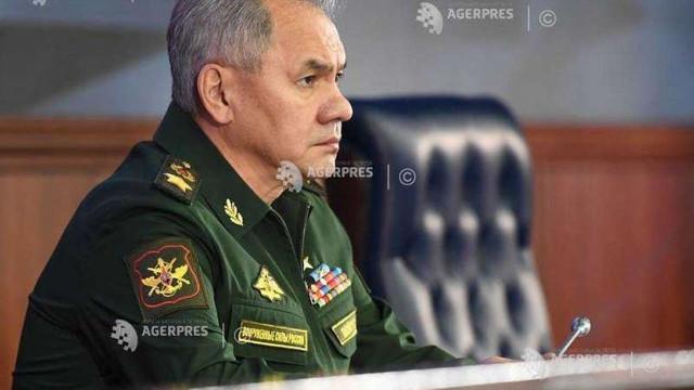 Ministrul rus al apărării: Rusia a transferat două armate și trei unități aeropurtate pe flancul său vestic pentru exerciții