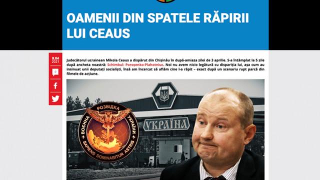 """Jurnalist-investigator RISE: """"Răpirea oamenilor este o practică multianuală în R.Moldova"""""""
