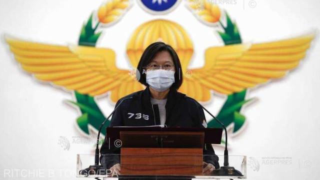 """Taiwanul le-a transmis emisarilor lui Joe Biden că va contracara """"manevrele îndrăznețe"""" ale Chinei"""