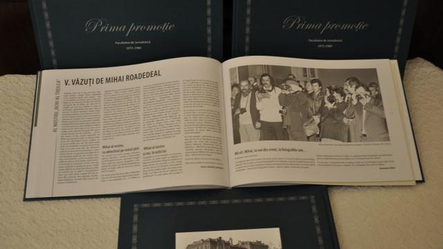 La Chișinău a apărut o carte despre prima promoție a Facultății de Jurnalistică a USM
