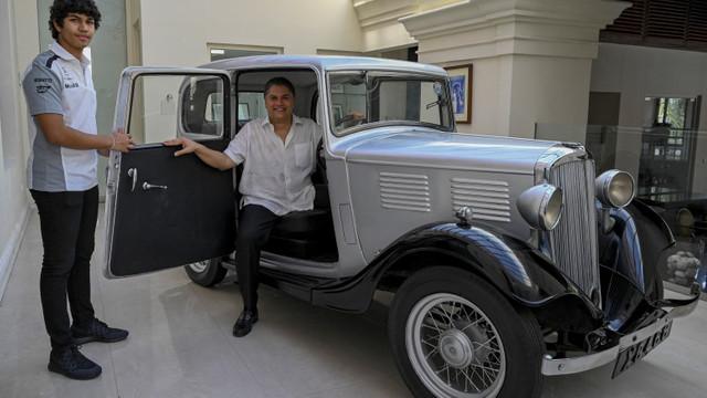Prima mașină cumpărată de Prințul Philip, la vârsta de 19 ani, este păstrată într-un hotel din Sri Lanka