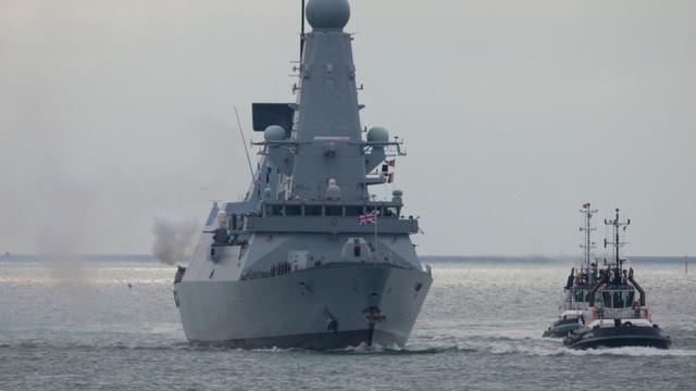 Marea Britanie va trimite un distrugător și o fregată antisubmarin în Marea Neagră și are pregătite de intervenție avioane F-35