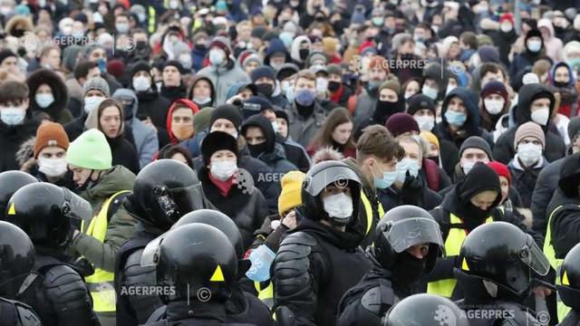 Aliații opozantului rus Aleksei Navalnîi lansează un apel la proteste masive pe 21 aprilie