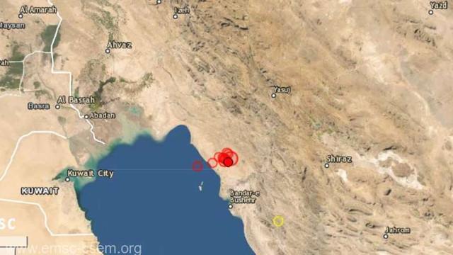Cel puțin cinci răniți și pagube materiale după un seism cu magnitudinea 5,9 în sud-vestul Iranului