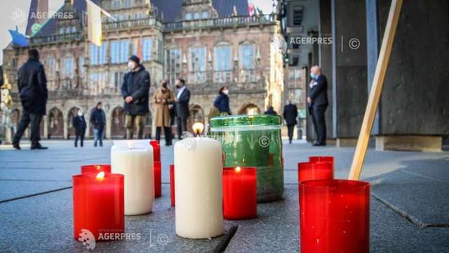 Coronavirus: Germania aduce un omagiu național morților de COVID-19, iar președintele lansează un apel la unitate