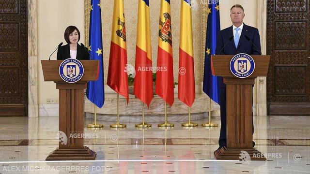 Președintele Maia Sandu va avea o întrevedere cu liderul de la București, Klaus Iohannis