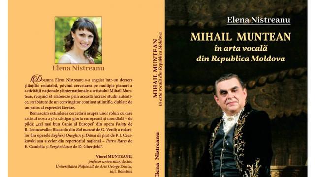 La Chișinău a apărut o carte despre cântărețul de operă Mihail Muntean