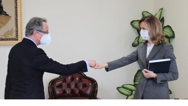 Vicepremierul pentru reintegrare a avut o întrevedere cu șeful Misiunii OSCE în R. Moldova