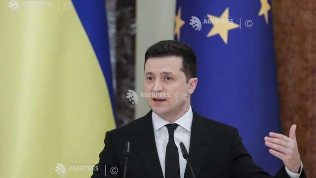 Președintele Ucrainei pregătește o serie de propuneri de securitate pentru partenerii europeni
