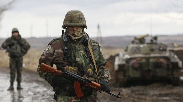 Un militar ucrainean a fost ucis în Donbas