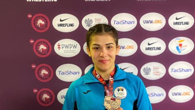 Anastasia Nichita a cucerit medalia de bronz la Campionatele Europene de lupte