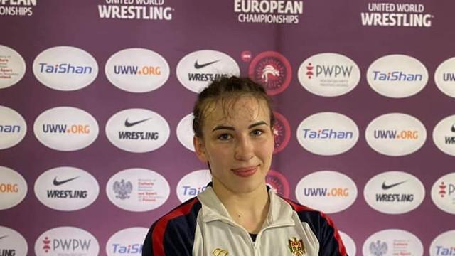 Irina Rîngaci, campioană europeană la lupte