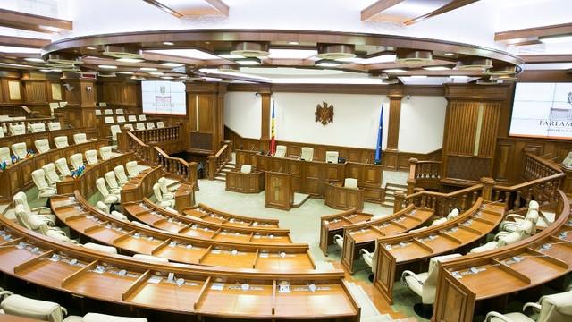 Parlamentul a cerut recuzarea președintei Curții Constituționale de la examinarea sesizărilor depuse de deputații Sergiu Litvinenco și Dinu Plângău împotriva hotărârilor de vineri ale Legislativului